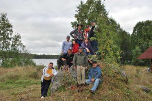 Заезд на турбазу Талвисъярви 260811 турбаза Талвисъярви в Карелии отдых летом и осенью