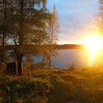 Отличное место для тихого отдыха в любой компании турбаза Талвисъярви в Карелии отдых летом и осенью